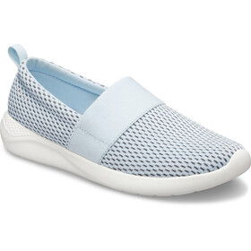 Crocs LiteRide Chaussures en maille Femme, mineral blue/white